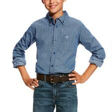 Ariat Dullins Boys Western Shirt - TB