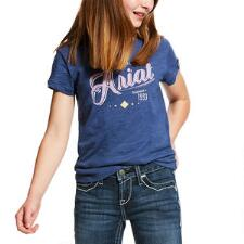 Ariat Logo Short Sleeve Girls Tee - TB