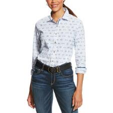 Ariat Bit Up Button Down Ladies Shirt - TB