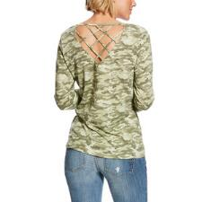 Ariat Gricel Camo Ladies Tee - TB