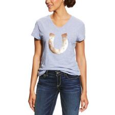 Ariat Sequin Horseshoe Ladies Tee - TB