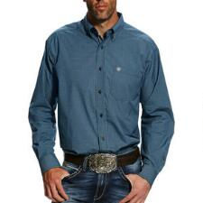 Ariat Hallaway Performance Mens Western Shirt - TB