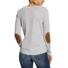 Ariat Mill Henley Style Ladies Tee - TB