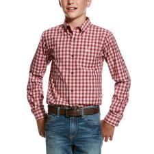 Ariat Monroy Performance Boys Western Shirt - TB