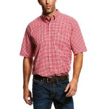 Ariat Obannion Performance Mens Western Shirt - TB