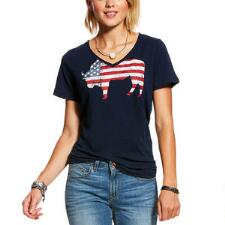 Ariat American Buffalo Ladies Tee - TB