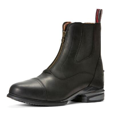 Ariat Devon Nitro Zip Front Black Mens Paddock Boot