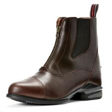Ariat Devon Nitro Zip Front Chocolate Mens Paddock Boot - TB