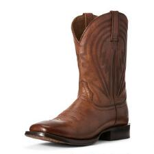 Ariat Circuit Herd Boss Naturally Cognac Mens Western Boots - TB