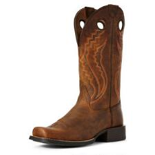 Ariat Sport Picket Line Sorrel Mens Western Boot - TB