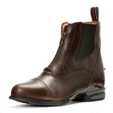 Ariat Devon Nitro Zip Front Chocolate Ladies Paddock Boot - TB