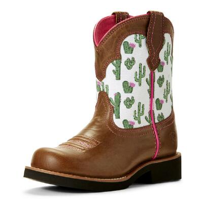 Ariat Fatbaby Bell Cactus Youth Western Boot
