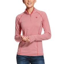 Ariat Lowell Geometric Quarter Zip Ladies Pull Over - TB