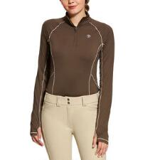 Ariat Lowell Solid Quarter Zip Ladies Pull Over - TB