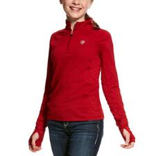 Ariat Lowell Solid Quarter Zip Girls Pull Over - TB