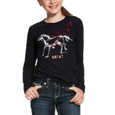 Ariat Pony Love Long Sleeve Girls Tee - TB