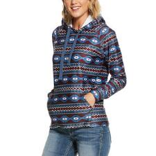 Ariat Conquest Aztec Print Ladies Hoodie - TB