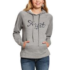 Ariat REAL Sequin Logo Ladies Hoodie - TB