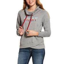 Ariat REAL Serape Logo Ladies Sweatshirt - TB