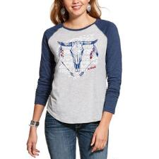 Ariat Born Free Ladies Baseball Tee - TB