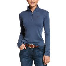 Ariat Cadence Wool Quarter Zip Ladies Pull Over - TB