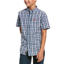 Ariat Romy Pro Series Short Sleeve Boys Western Shirt - TB