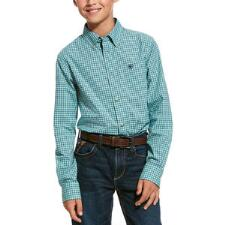 Ariat Ronan Pro Series Boys Western Shirt - TB