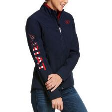 Ariat USA Team Softshell Ladies Jacket - TB