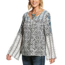 Ariat Camilla Tunic Ladies Top - TB