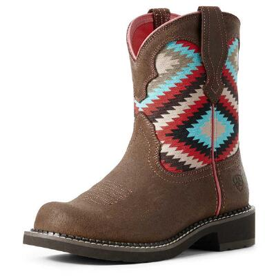 Ariat Fatbaby Heritage Aztec Ladies Western Boot