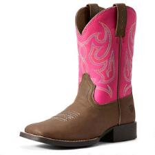 Ariat Jr Champ Youth Western Boot - TB