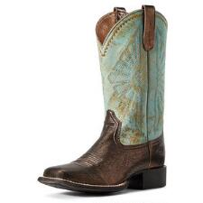 Ariat Round Up Rio Bronze Ladies Western Boot - TB
