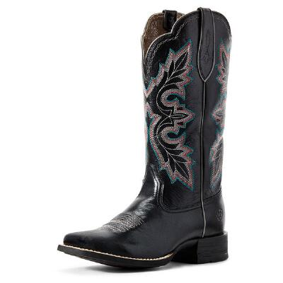 Ariat Breakout Jackal Black Ladies Western Boot