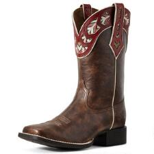 Ariat Round Up Monroe Crunch Ladies Western Boot - TB