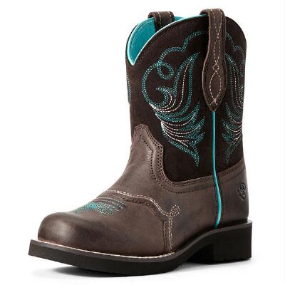 Ariat Fatbaby Heritage Dapper Toffee Youth Western Boot