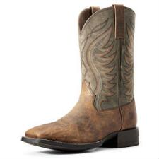 Ariat Amos Sorrel Crunch Mens Western Boot - TB