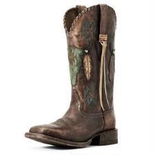 Ariat Tallahassee Distressed Ladies Western Boot - TB