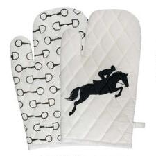 TuffRider Equestrian Themed Oven Mitts - Pair - TB