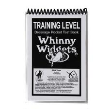 Whinny Widget 2019 Dressage Training Level Test Book - TB