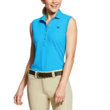 Ariat Prix 2.0 Ladies Sleeveless Polo - Nautilus - TB