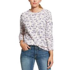 Ariat READY Rose Toile Ladies Sweatshirt - TB