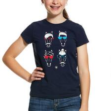 Ariat Hipster Horse Short Sleeve Girls Tee - TB