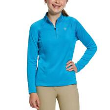 Ariat Sunstopper 2.0 Nautilus Girls Quarter Zip - TB
