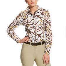 Ariat Bridle Oxford Ladies Shirt - TB