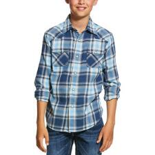 Ariat Boys Jupiter Retro Fit Snap Western Shirt - TB