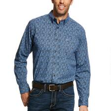 Ariat Mens Hanson Stretch Fitted Western Shirt - TB