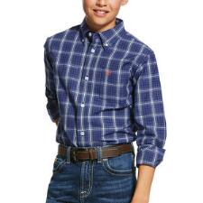 Ariat Boys Pro Series Gadsen Classic Fit Western Shirt - TB
