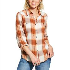 Ariat REAL Billie Jean Summer Dust Ladies Western Shirt - TB