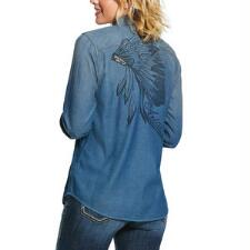 Ariat REAL Powerful Snap Front Ladies Western Shirt - TB