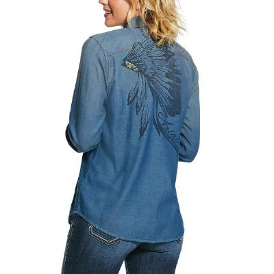 Ariat REAL Powerful Snap Front Ladies Western Shirt